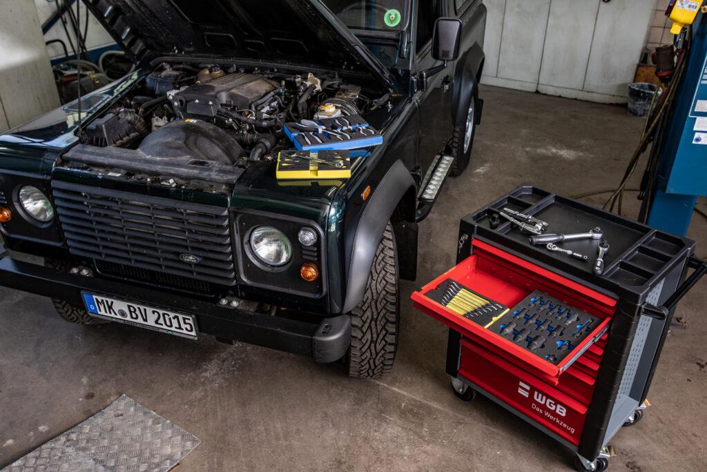 WGB alternatief voor gedore: gereedschapswagen met moflex systeem
